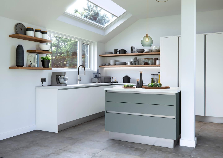 Knaggs unique kitchen design
